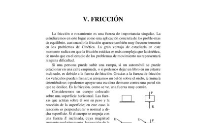 Frictions, exercices et leurs solutions